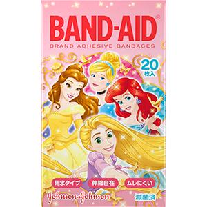 バンドエイド® キッズシリーズ ディズニープリンセス