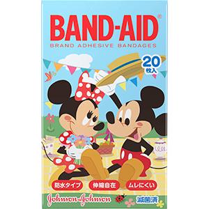 バンドエイド® キッズシリーズ ディズニーの仲間たち