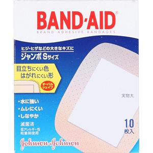 バンドエイド® 肌色タイプ ジャンボSサイズ10枚入