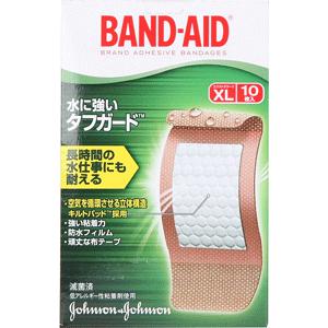 バンドエイド® 水に強いタフガード™ スタンダートサイズ10枚入