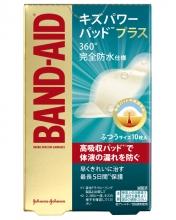 バンドエイド® キズパワーパッド™プラス ふつうサイズ パッケージ表面