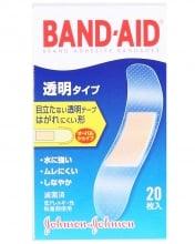 バンドエイド® 透明タイプ  パッケージ表面