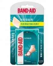 バンドエイド® 外反母趾用 パッケージ表面