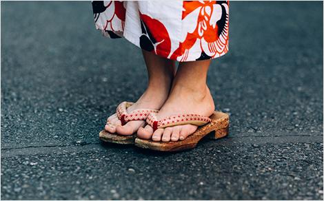 靴ずれケース ぞうり