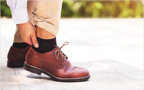 靴ずれケース ビジネスシューズ